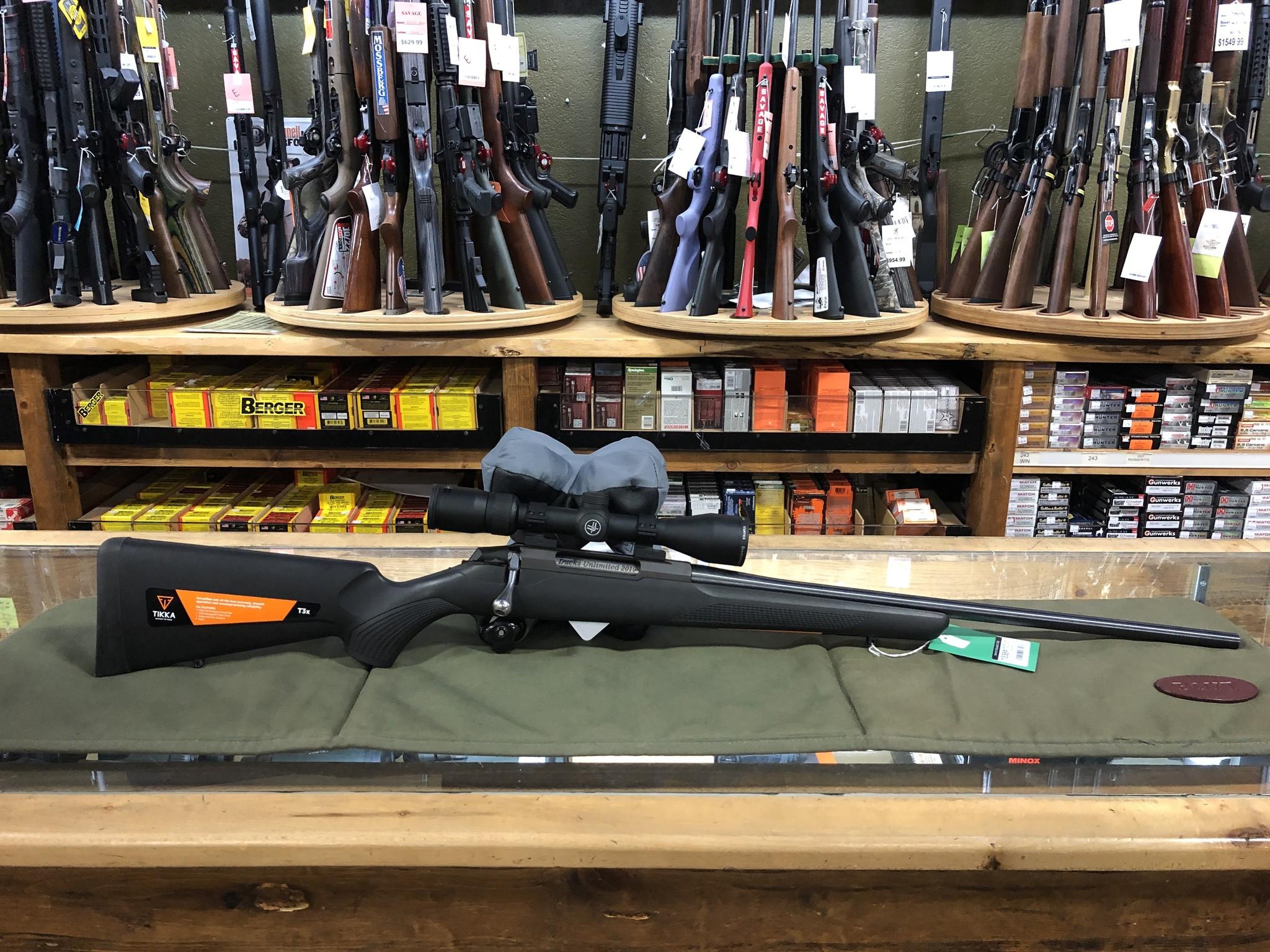 Tikka Tikka T3x Rifle Package w/ Vortex Diamondback 3-9x40