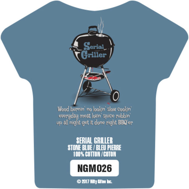 Nifty Giftee Crushed Tees Serial Griller