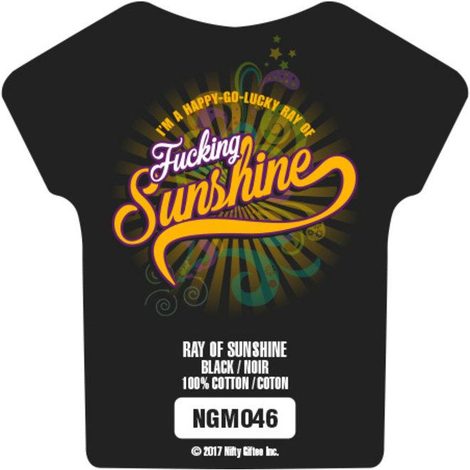 Nifty Giftee Crushed Tees Ray of Sunshine