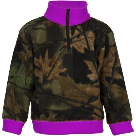 Trailcrest Trail Crest Everyday Neon Purple 1/4 Zip
