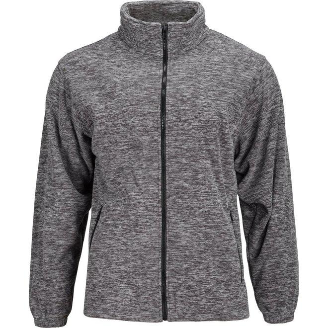 Trail Crest Fleece Jacket Black & White