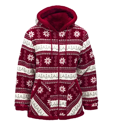 Trailcrest Trail Crest Nordic Bonded Double Layer Jacket Burgundy