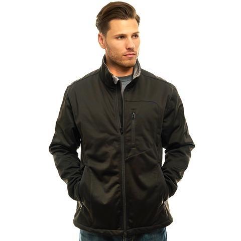 Trail Crest Men's Waterproof/Windproof/Breathable Jacket Black