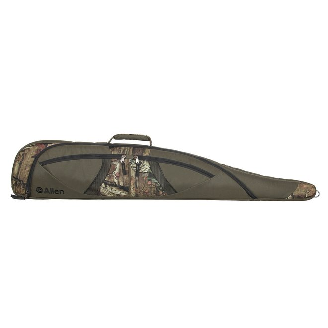 "Allen Rifle Case Oversize Scoped Teflon 48"" Green/Camo"