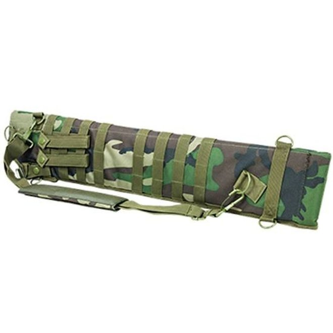 "NcSTAR Tactical Shotgun Scabbard Wood Camo 6.5""x29""-34.75"""