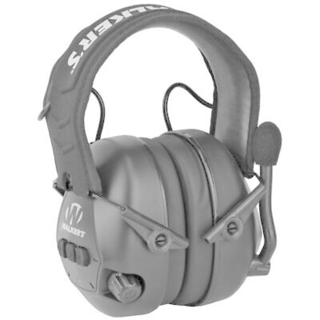 Walker's Bluetooth Passive Earmuffs (NRR 25dB) with Boom Mic