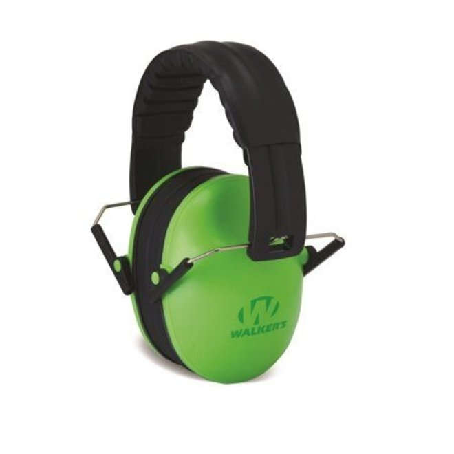 Walker's Baby and Kids Earmuffs (NRR 23 dB) Green