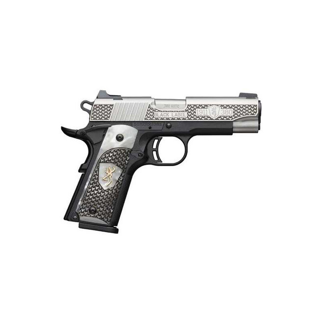 Browning 1911-380 Engraved Pearl Grip .380 Auto