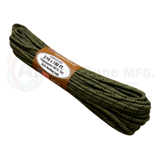 Atwood Rope 3/16 X 100ft Camo