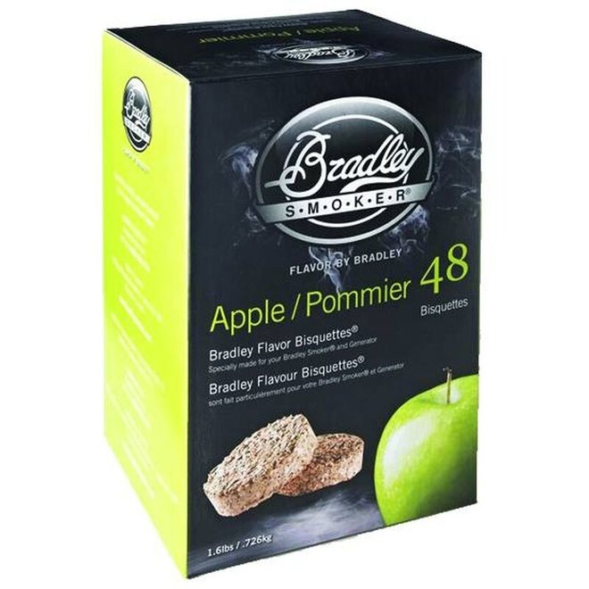 Bradley Bisquettes Apple 48-Pack