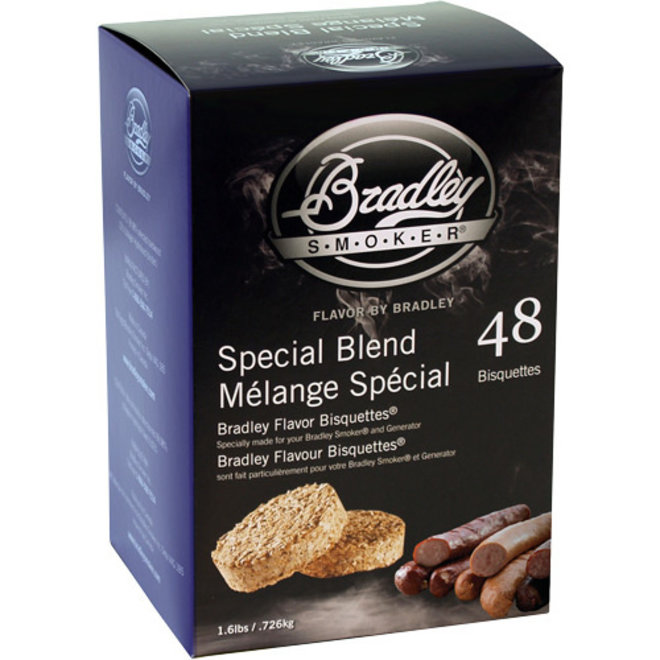 Bradley Bisquettes Special Blend 48-Pack