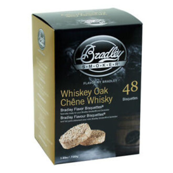 Bradley Bisquettes Whiskey Oak 48-Pack