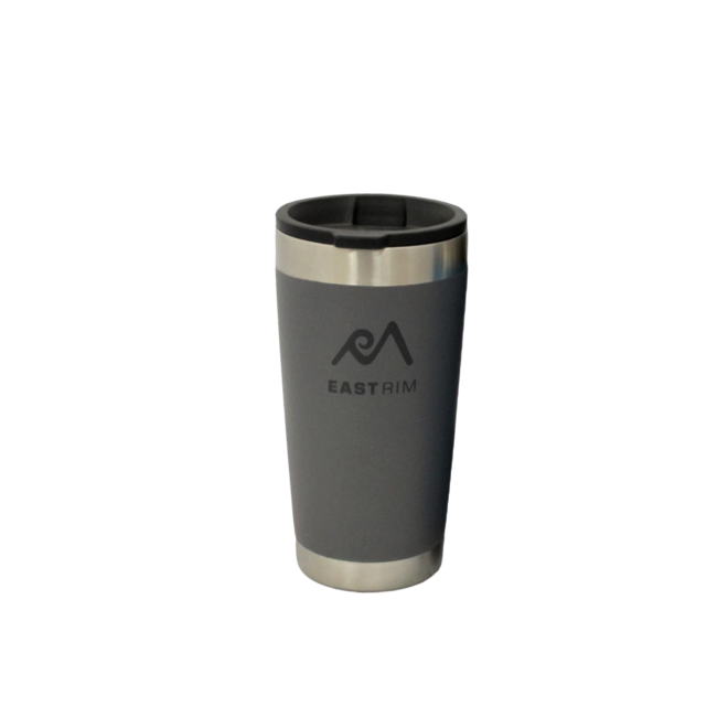 East Rim Stainless 17 Oz Double Wall Tumbler Gray