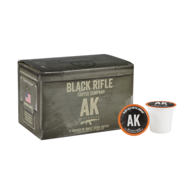 Black Rifle Coffee Co. AK-47 Coffee Rounds