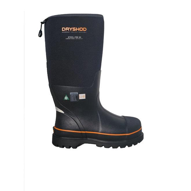 Dryshod Steel Toe Black/Orange