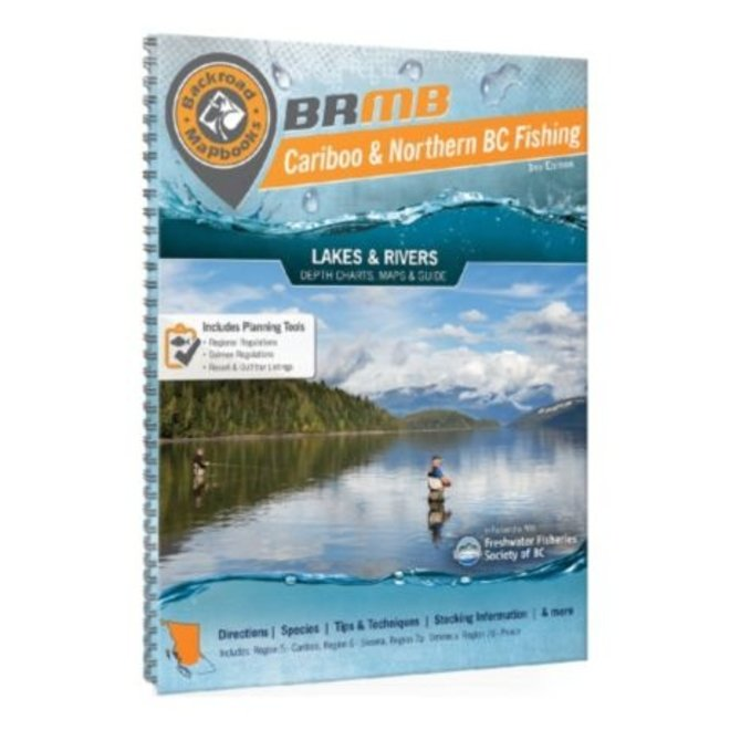 Backroad Mapbooks Cariboo & Northern BC Fishing