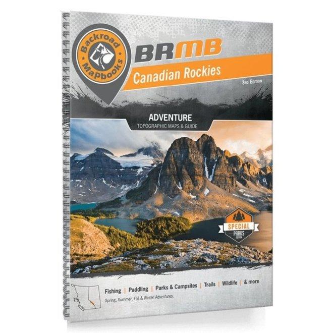 Backroad Mapbook Canadian Rockies 3rd Edition