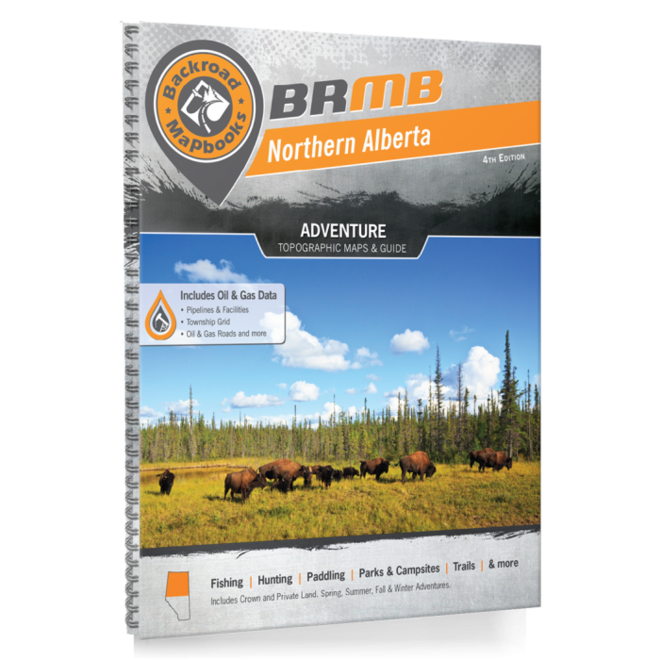 Backroad Mapbook Northern Alberta 4th Edition