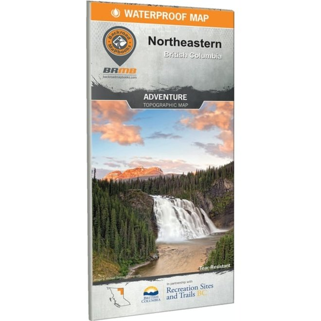 Backroad Mapbooks Northeast BC Waterproof 1st Edition