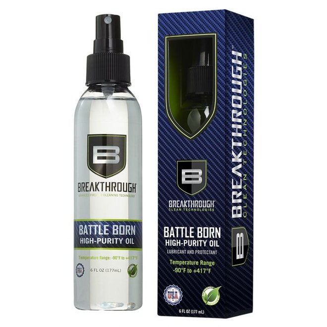 Breakthrough Battle Born High Purity Oil 6oz Spray