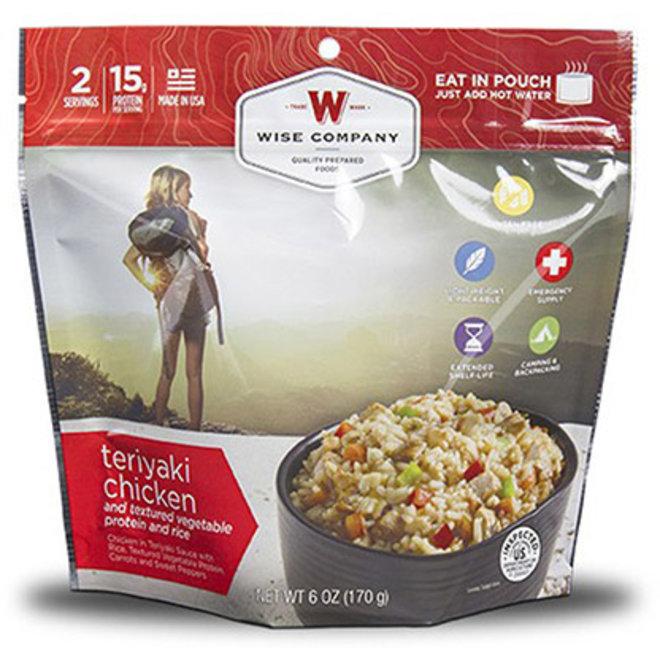 Wise Company Teriyaki Chicken & Rice