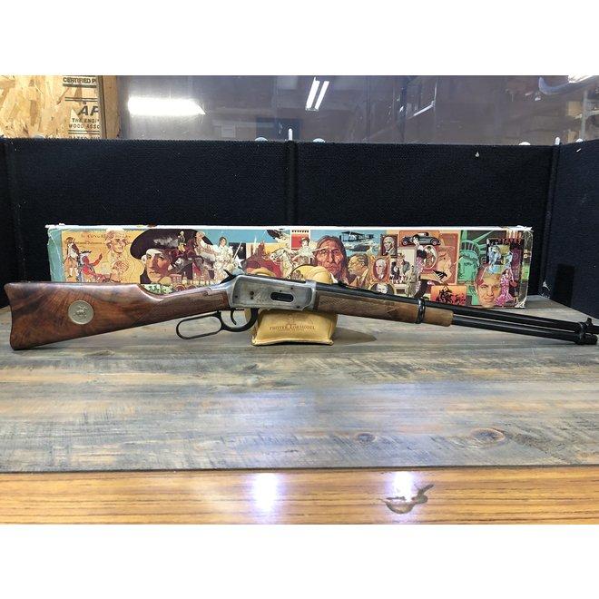 Winchester Commemorative Bicentannial 76' 30/30 w/ Box & Wood Gun Rack C-3774