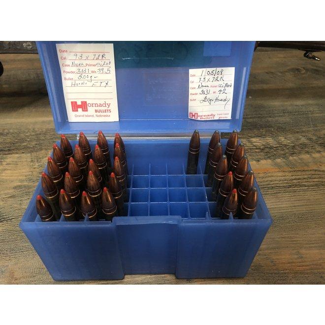 Iman Drilling 12GA w/ 93x72R Ammunition C-3806