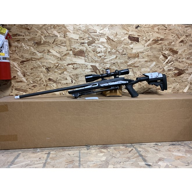 Remington 700 22-250 w/ Spec Op's Chassis & Huskemaw 5-20LR C-3800