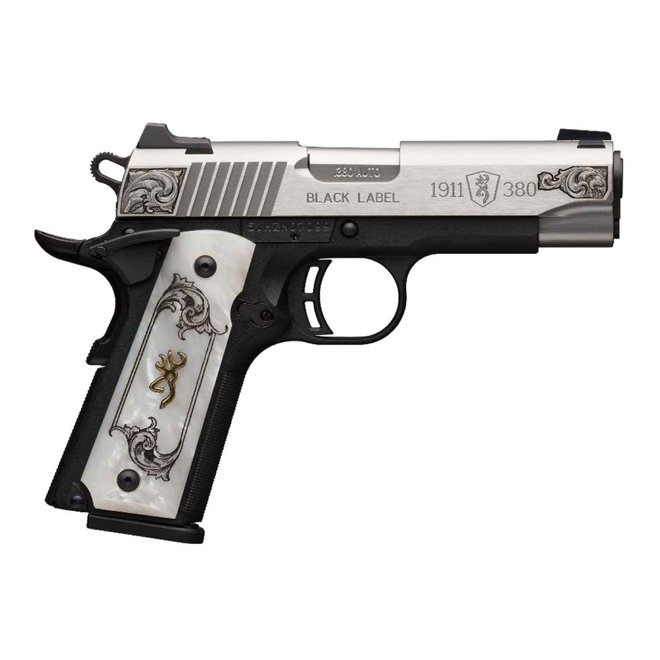 Browning 1911-380 Black Label Medallion Stainless