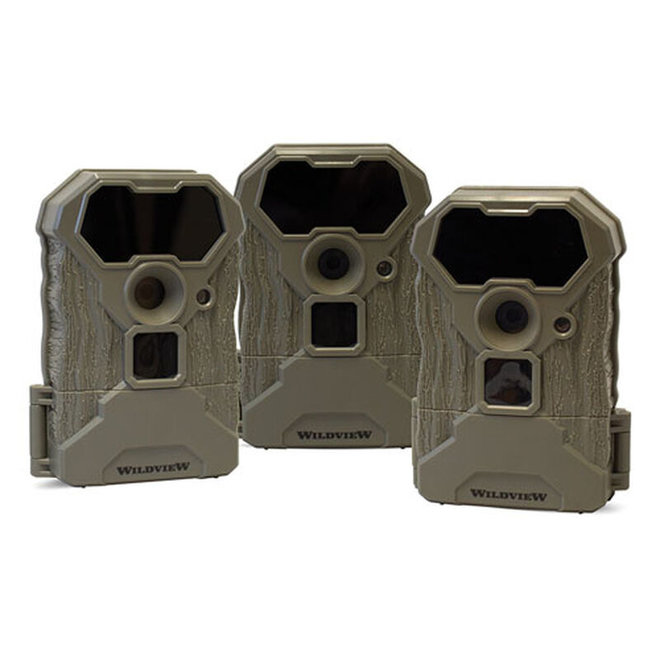 Wildview 12MP Trail Cam 3 Pack