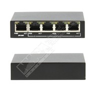 Cryo-PC Cryo-PC PUG05 4+1 PoE Unmanaged Switch, 1000Mbps each port,48V 1.25A External Power Adapter, IEEE802.3af Standard