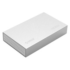 ORICO ORICO Aluminum SATA 3.0 to USB3.0 Type-B 2.5 / 3.5 inch SSD / Sata HDD Enclosure Storage - Silver (3518S3-US)