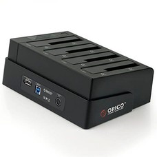 ORICO ORICO 6648SUSJ3 4 Bay Tool Free 2.5 3.5 Inch USB 3.0 eSATA Interface HDD Docking Station