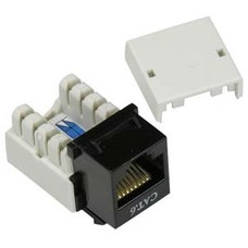Cat 6 RJ45 110 Type Keystone Jack (Choose color)