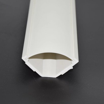 5Ft Medium Corner Duct Cable Raceway White (W56 x H32mm)