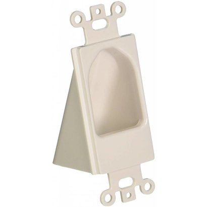 Reverse Nose Decor Insert White