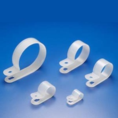 """R-Type Cable Clamp 100Pk (1/8 - 1"""")"""