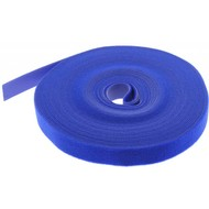 "50 Foot (50Ft) Velcro Strap Tape Roll, 20mm (0.8"") Width, Blue color"