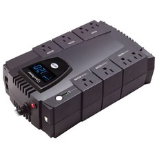 CyberPower CyberPower Intelligent LCD Series CP825LCD 825VA 450 Watts 4 x 5-15R Battery/Surge Protected 4 x 5-15R Surge Protected Outlets UPS