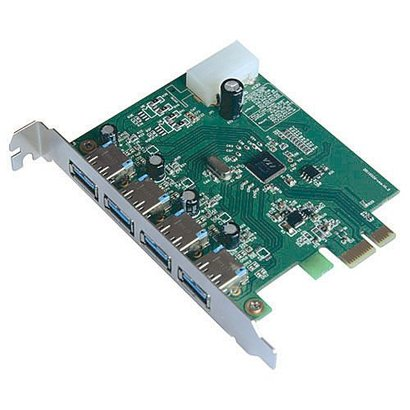 X-MEDIA XM-UB3204 4-Ports SuperSpeed USB3.0 PCI Express Card