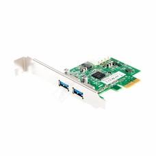 Zalman Zalman ZM-PC302 U3 USB3.0 PCI-Express Card, 2x USB3.0 Ports Controller IO Card, 4-Pin Molex Auxiliary Power