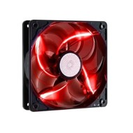 Cooler Master SickleFlow 120 - Sleeve Bearing 120mm Red LED Silent Fan for Computer Cases, CPU Coolers, and Radiators R4-L2R-20AR-R1