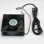 Xinruilian AC Fan 120x120x38 mm 75CFM, 40dBA 7Ft Power Cord