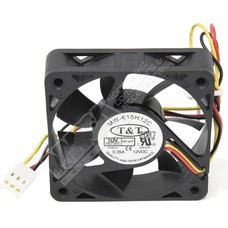 Replacement Chassis Fan 60mm x 15mm 3-pin Ball Bearing DC 12Volt