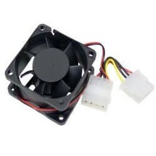 Replacement Chassis Fan 60mm x 25mm 4-pin Ball Bearing DC 12Volt