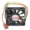 Case Fan, 45mm X 10mm Dc 12v, Ball Bearing, 3 Pin