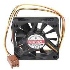 Case Fan, 45mm X 10mm Dc 12v, Ball Bearing, 3 Pin