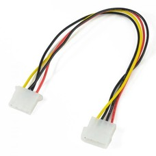 2Ft (24 inch) 4Pin Molex Male Female Power Supply Extension