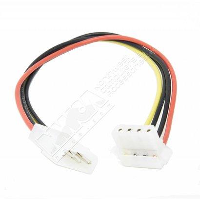 "8"" 4 Pin Molex Right Angle Power Cable"