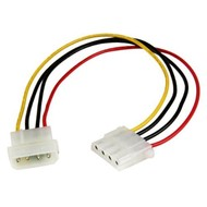"12"" inch 4pin Molex power Extension 5.25"" M/F"